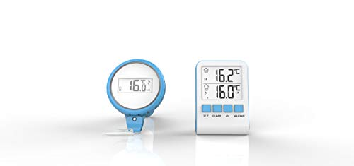 Steinbach Digitales Funk Pool Thermometer, Lieferumfang ohne Batterien (2x AAA), 061333