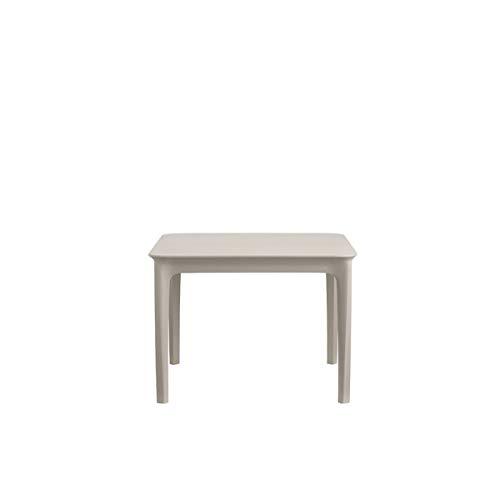 Scab Design Tavolino caffè Modello Argo in tecnopolimero Set 2Pezzi - Disponibile in 4 Colori - per Interni ED Esterni (Tortora)