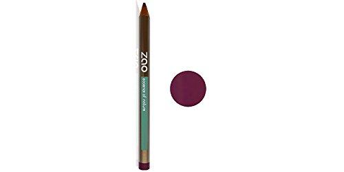 ZAO Holzstift 606 pflaume lila violett Kajal Eyeliner Lipliner Konturenstift (bio, Ecocert,...