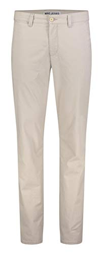MAC Jeans Herren Lennox Straight Jeans, Beige (Kitt Printed 211b), W36/L32 (Herstellergröße: 36/32)