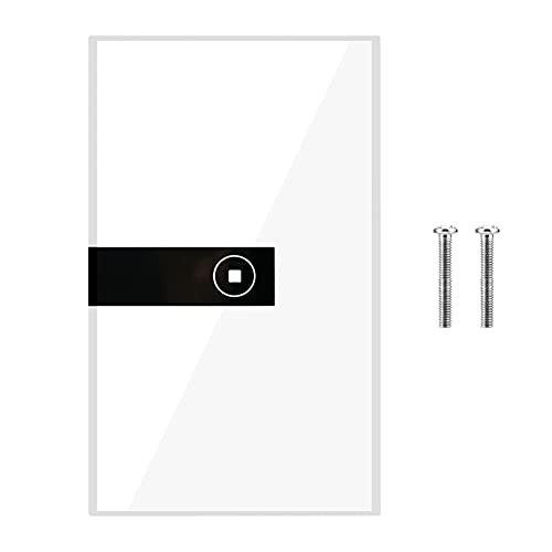 QXQX Toque Led Light Switch Switch Aplico Remoto Control De La Aplicación De EE. UU. Panel De Conmutación Inteligente Inalámbrico WiFi (1 Pandilla)