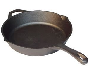 Camp Chef 14quot Seasoned Cast Iron Skillet