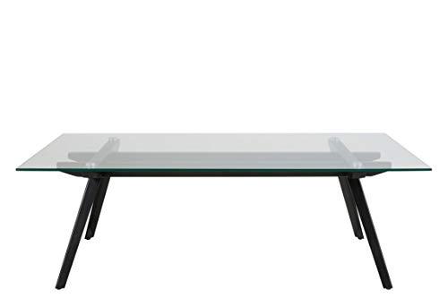 AC Design Furniture Table Basse avec Plateau en Verre
