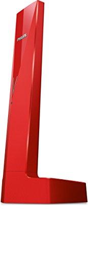 Philips Linea M3501R 23 telefono Telefono DECT Rosso Identificatore di chiamata