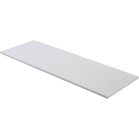 IZO All Supply 1/2'x24'x72' Upholstery Foam Cushion High...