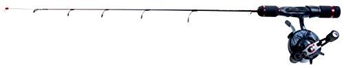 Frabill Unisex's VYPR Ice Fishing Rod and Reel Combo | 27' Straightline,...