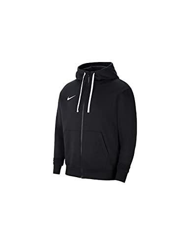 Nike Unisex-Child Park 20 Hooded Sweatshirt, Black/White, M
