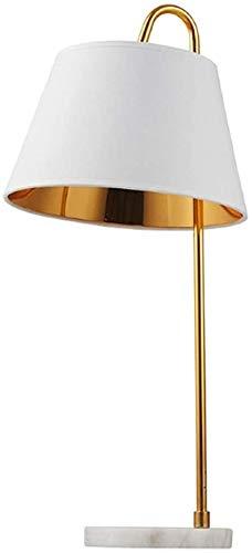 Lámpara de pared interior Lámpara de mesa de hierro forjado Lámpara de escritorio de mesita de noche moderna Moderno Minimalista Dormitorio Sala de estar Estudio de dormitorio universitario (color: bl