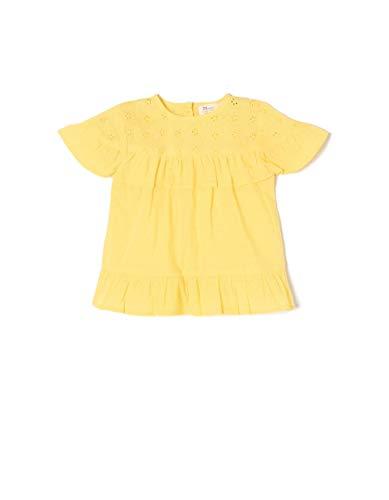Zippy ZIPPY Baby-Mädchen Ztg0302_455_2 Bluse, Gelb (Aspen Gold 1662), 98 (Herstellergröße: 24/36M)