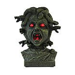 Totally Ghoul Medusa Bust Animated Halloween Decoration
