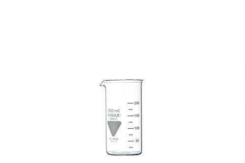 RASOTHERM Becherglas hohe Form mit Ausguss,   (Boro 3.3), 50 ml