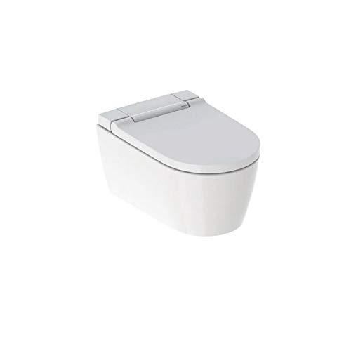 Geberit AquaClean Sela Dusch-WC für die Wandmontage in weiß-Alpin oder glanzchrom, Farbe:weiß