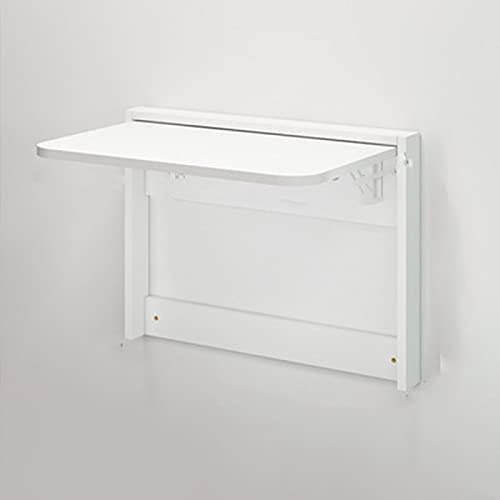 YAHAO Tablas de hojas de gota para espacios pequeños, mesa plegable invisible montado en la pared tabla de color de registro mesa de comedor blanco multifuncional mesa montada en la pared, A-Small