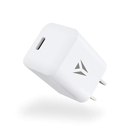 NYZ 20W USB-C Power Adapter Fast Charger True Fast Charge Power Brick for iPhone 12/12 Mini/12 Pro/12 Pro Max/11,Galaxy (Cable Not Included)