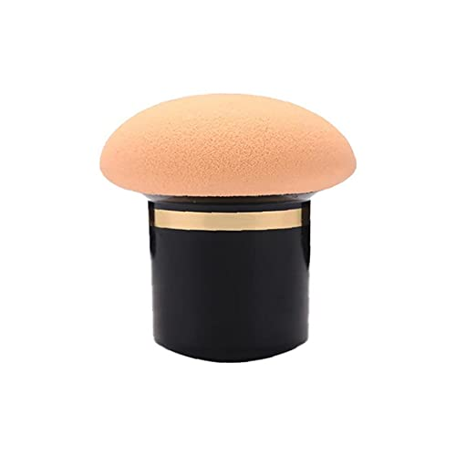 Ruluti 1pc Cosmétique Éponge Visage Aux Champignons Modèle De Maquillage Fondation Powder Puff Couleur Aléatoire Filles Cadeau