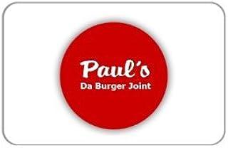 Paul`s Da Burger Joint Gift Certificate