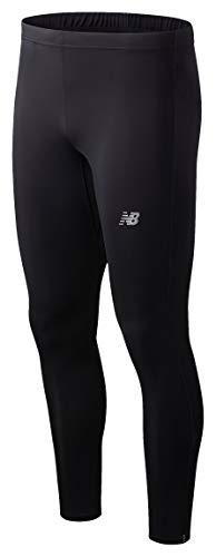 New Balance Men's Standard Accelerate Tight, Black, Large