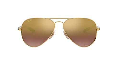 Óculos de Sol Ray Ban Rb8317ch 001/6b/58 Dourado Brilhante