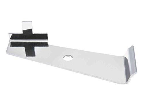 Cluster Winkelhaken I Winkelclip für Gabionen aus Edelstahl I Mattenverbinder für 656 & 868 Gittermatten geeignet