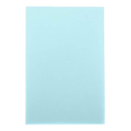 MERIGLARE 100 Feuilles Composent Les Tissus Absorbants Absorbants Pour Le Visage En Papier Hygiénique Propre - Bleu