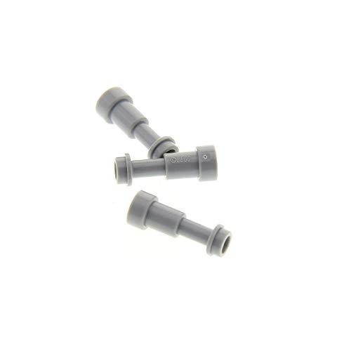 Bausteine gebraucht 3 x Lego System Fernrohr Fernglas neu-hell grau Teleskop Figuren Zubehör Star Wars Schach 40158 sp126 75192 sw894 71042 9493 4073 64644