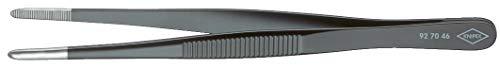 KNIPEX 92 70 46 Präzisions-Pinzette stumpfe Form 145 mm