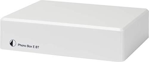 Pro-Ject Phono Box E BT, preamplificatore phono con streaming audio wireless, bianco