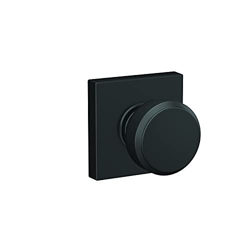 Schlage F10 BWE 622 COL 16-080 10-027 134 Front Entry Handleset Interior, Matte Black