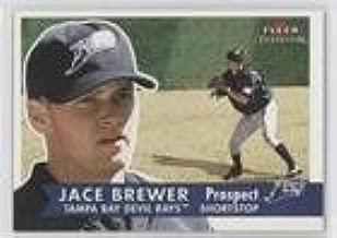 Jace Brewer (Baseball Card) 2001 Fleer Tradition - [Base] #353