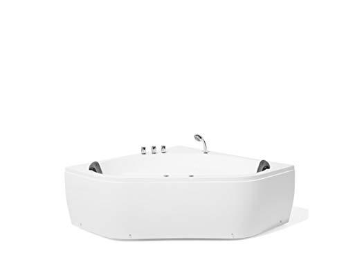 Whirlpool - indoor Jacuzzi - bubbelbad - spa - badkuip hoekig - TOCOA