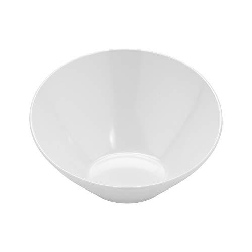 GET B-786-W Angled/Cascading Bowl, 12 Ounce, White