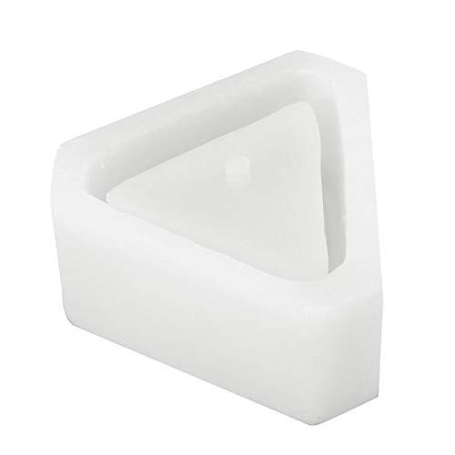 XCQ 3D-Blumen-Topf-Silikon-Form handgefertigte dreieckige Beton-DIY-sukkulente Pflanzen-Topf, die Form dauerhaft Macht 0403