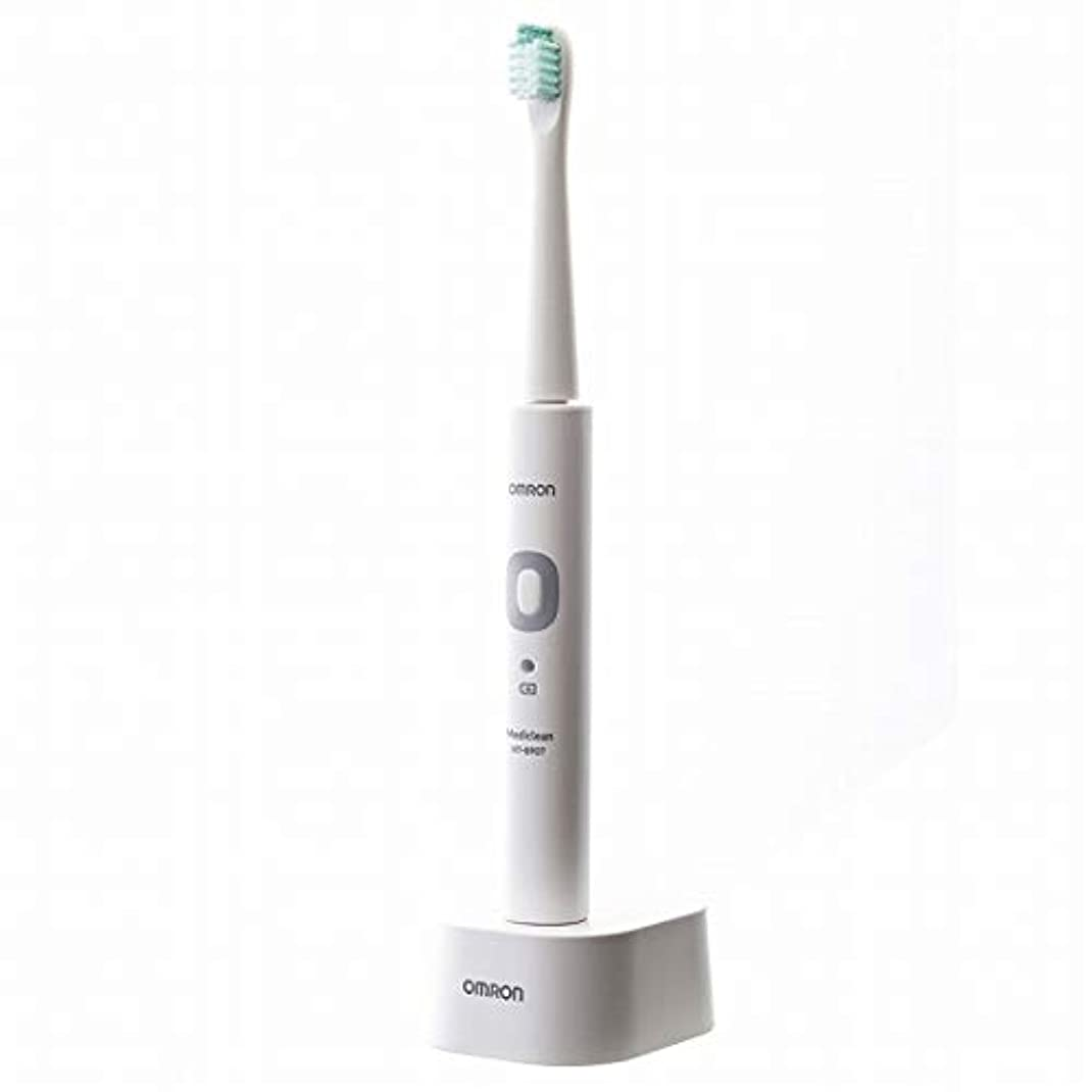 不条理月シンプルなOMRON オムロン 音波式電動歯ブラシ メディクリーン