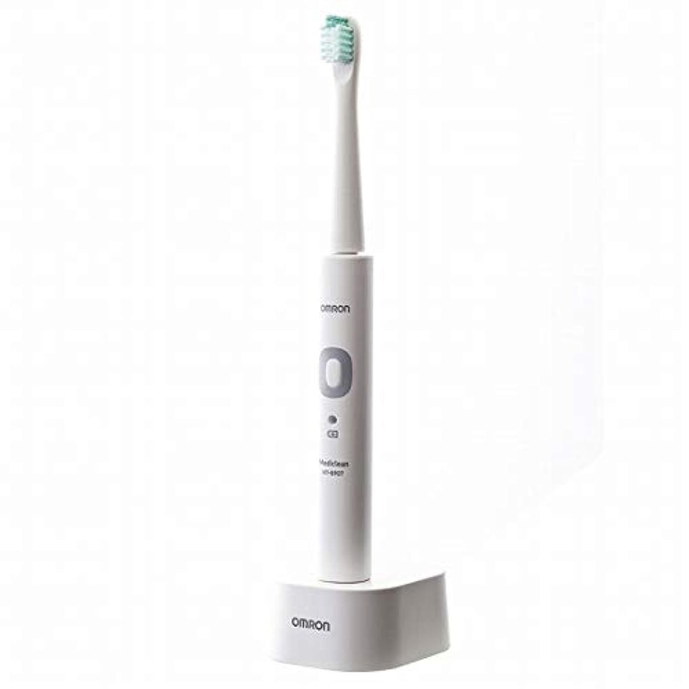 生理開発競争OMRON オムロン 音波式電動歯ブラシ メディクリーン