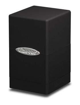 Ultra Pro Satin Tower Deck Box | Black | 1-Pack
