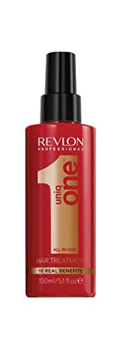 UniqOne Hair Treatment Classic, 150 ml, Sprühkur für mehr Volumen, Geschmeidigkeit & bessere Kämmbarkeit, Haarpflege ohne Ausspülen, Spray hilft Spliss vorzubeugen