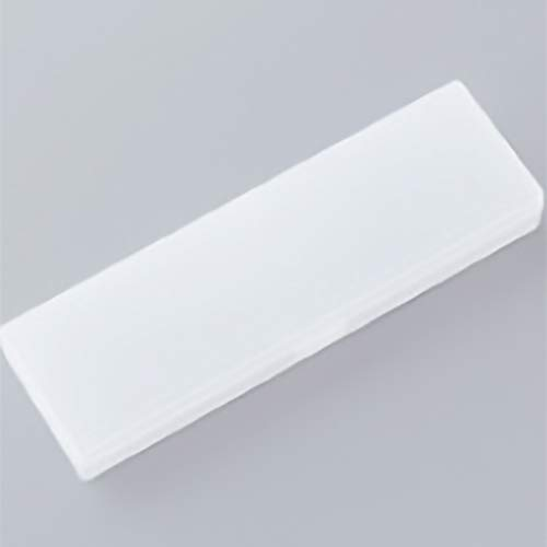 Qiilu ペンケース 筆箱 ペンボックス プラスチック 鉛筆ホルダー 半透明 シンプル 白透明 ボックス 小物収納ボックス 学生文具 学生用 事務用品(白)