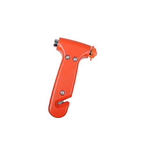 SPFCJL Mini Martillo de Seguridad Martillo de Emergencia Hammer Glass Breaker Cutter Cutter Window Escape Blade Herramienta