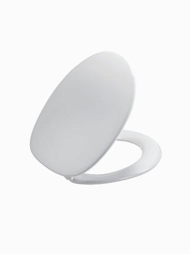 Pressalit 314000-UN9999 WC-Sitz Zaga weiß mit Deckel und Universalscharnier (BN9)