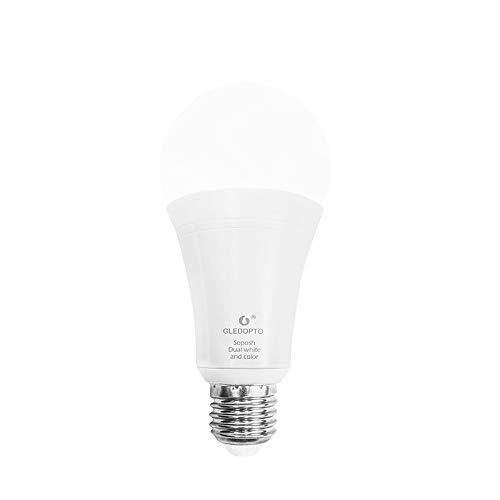 Gledopto 12W E27 RGB CCT-Lampe