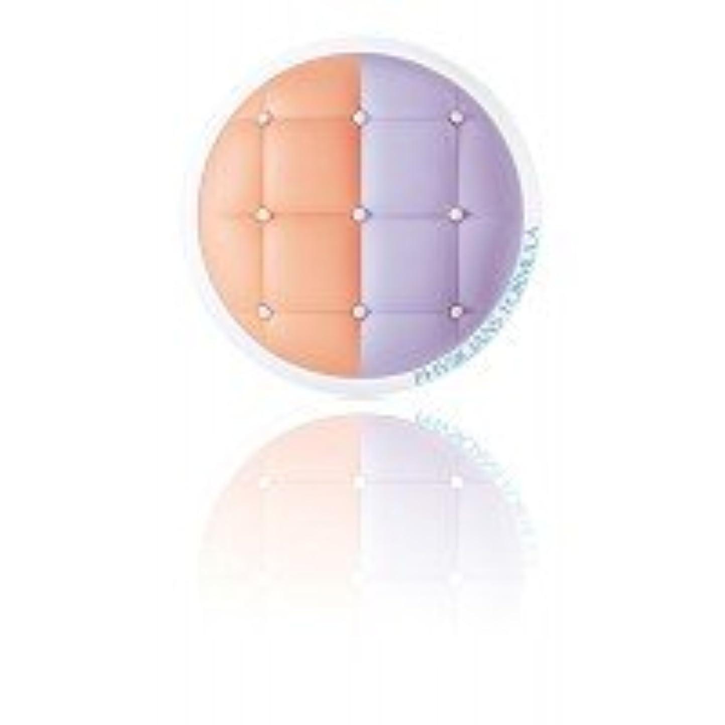 シャワー失敗スノーケルミネラルウェア クッションコレクター+プライマーデュオ Peach/Lavender MCC02