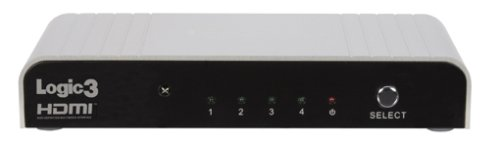 Logic 3 HDMI 4 WAY Switch BOX Adapter