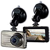 Dash Cam, Car Camera Dashboard 3.0 Inch HD Screen FULL 1080P 170 Degree Super Wide Angle Cameras Recorder Dvr IPS Screen Support G-Sensor, Motion Detection, Parking Mode Night Vision