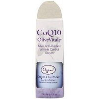 Orjene Organics CoQ10 OliveVitale Maxi Anti-Oxidant Wrinkle Control Serum