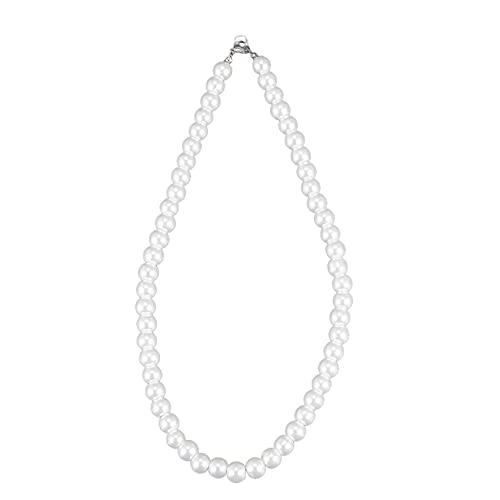 Kresell Collar de Perla con Cierre de Metal
