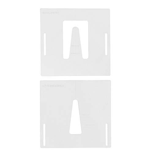 Gitarre Neck Routing Vorlage transparente Acryl Vorlage Gitarren & Equipment