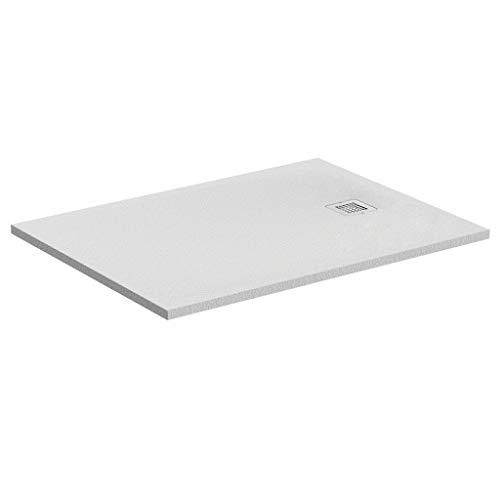 Ideal Standard K8256FR Ultra Flat S douchebak, Resina Solid, wit