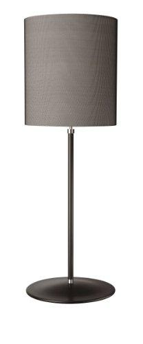 Lirio (Italien) by Philips Floor Lamp–Floor Lighting (Halogen, E27, Black, Fabric, Warm White, IP20)