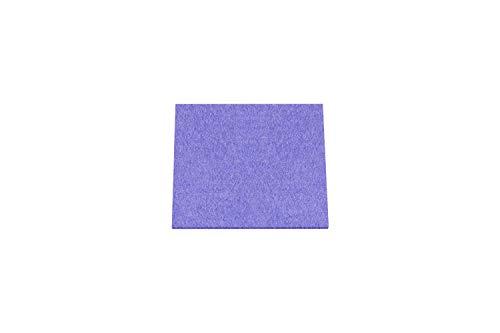 METZ Filzuntersetzer quadratisch, 10 x 10 cm, 2-er Set Farbe Flieder