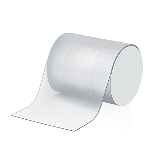AIEVE Tenacious Tape, 2m Clear Waterproof Sealing Tape Tent Repair Tape, Multi-Purpose Adhesive Tape for Tent, Inflatable, Inflatable Swimming Pools, Roof, Outdoor Use and Leak Repair(Transparent)